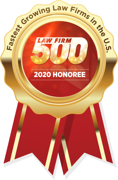 Fastest Growing Law Firms in the U.S. Law Firm 500 2020 Honoree